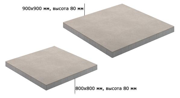 Технические характеристики: тротуарная плитка Концепт Дизайн