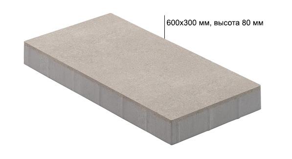 Технические характеристики: тротуарная плитка Урбан 80 мм
