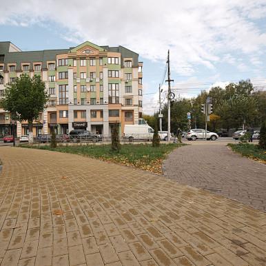 Сквер ул. Вознесенского