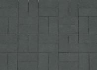 Кирпичик 60 мм, Серия Standard. Цвет Чёрный