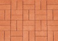 Кирпичик 60 мм, Серия Nature. Цвет Оранжевый