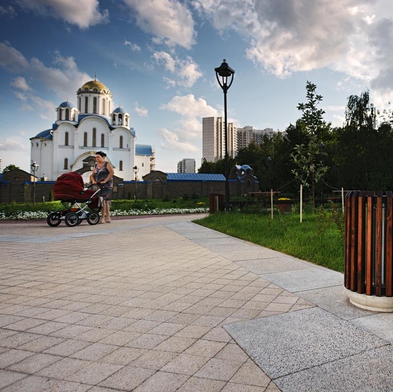 Завершено благоустройство всех функциональных рекреационных зон нового бульвара в Москве