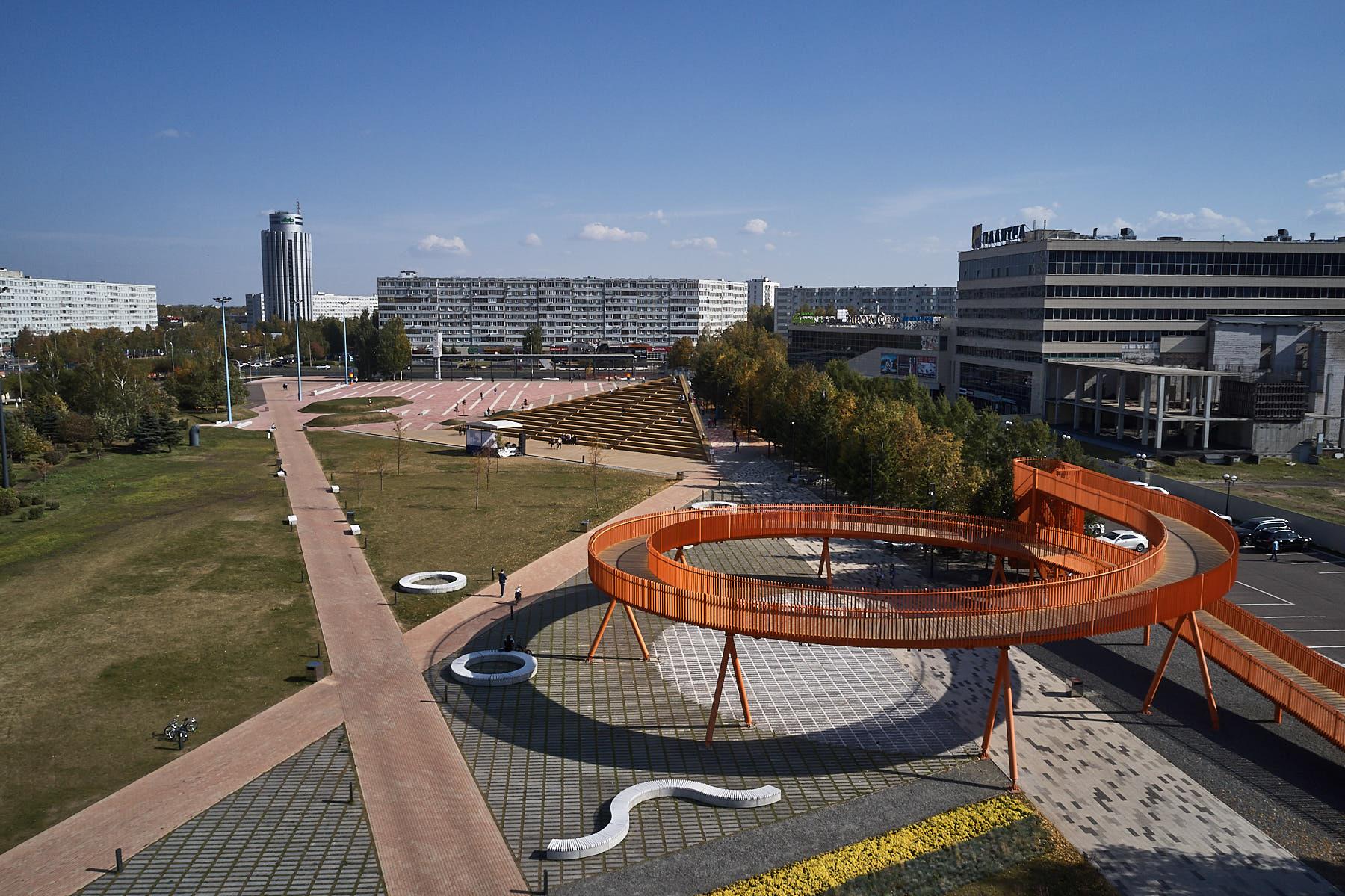 Обновленная площадь Азатлык вошла в ТОП-30 общественных пространств России