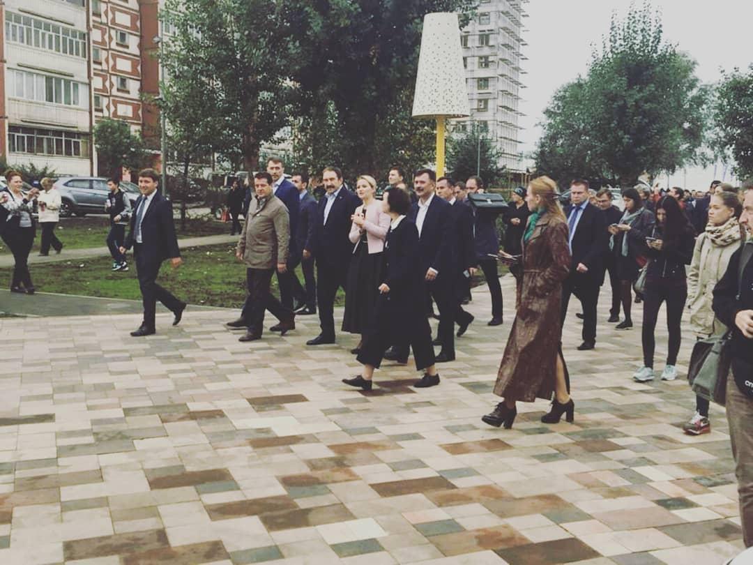 Бесфасочные плиты Бельпассо украсили бульвар Юлиуса Фучика в Казани