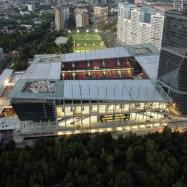 Тротуарная плитка компании «Каменный век» на новом стадионе футбольного клуба ЦСКА